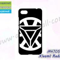 M4705-05 เคสแข็งดำ Xiaomi Redmi6a ลาย iMan