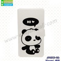 M4813-16 เคสฝาพับ Xiaomi Mi9 ลาย Hi Panda