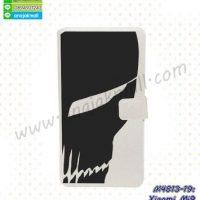 M4813-19 เคสฝาพับ Xiaomi Mi9 ลาย Black Mask01