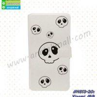 M4813-20 เคสฝาพับ Xiaomi Mi9 ลาย Skull Z01