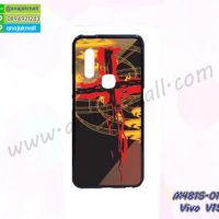 M4815-01 เคสยาง Vivo V15 ลาย Design06