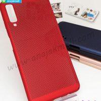 M4838-03 เคสระบายความร้อน Samsung Galaxy A7-2018 สีแดง