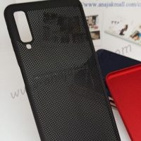 M4838-05 เคสระบายความร้อน Samsung Galaxy A7-2018 สีดำ