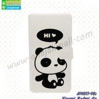 M4811-16 เคสฝาพับ Xiaomi Redmi Go ลาย Hi Panda