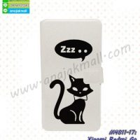 M4811-17 เคสฝาพับ Xiaomi Redmi Go ลาย Black Cat Z01