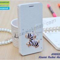 M4852-12 เคสฝาพับ Xiaomi Redmi Note7 แต่งคริสตัลลาย Zebra I