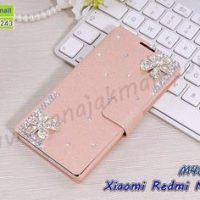 M4888-17 เคสฝาพับคริสตัล Xiaomi Redmi Note4X ลาย Fresh Flower II