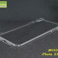 M4934-01 เคส PC คลุมรอบ iPhone XSMax สีใส