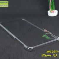 M4934-02 เคสแข็งใส iPhone XSMax