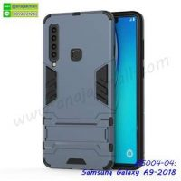 M5004-04 เคสโรบอทกันกระแทก Samsung A9 2018 สีนาวี