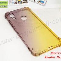 M5027-02 เคสยางกันกระแทก Xiaomi Redmi7 สีดำ-เหลือง