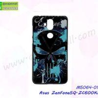 M5064-01 เคสแข็งพิมพ์ลาย Asus ZenFone5Q-ZC600KL ลาย Skull X05