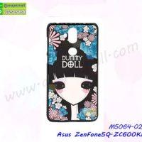 M5064-02 เคสแข็งพิมพ์ลาย Asus ZenFone5Q-ZC600KL ลาย Dummy Doll