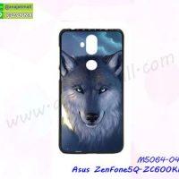 M5064-04 เคสแข็งพิมพ์ลาย Asus ZenFone5Q-ZC600KL ลาย Wolf