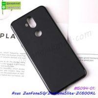 M5094-01 เคสยางนิ่ม Asus ZenFone5Q-ZC600KL สีดำ
