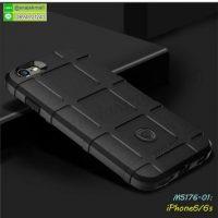M5176-01 เคส Rugged กันกระแทก iPhone6/iPhone6s สีดำ