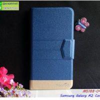 M5188-04 เคสฝาพับ Samsung A2core สีน้ำเงิน