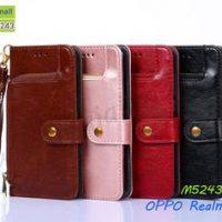 M5243 เคสกระเป๋า OPPO Realme5 Pro (เลือกสี)