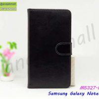M5327-02 เคสฝาพับ Samsung Note10 สีดำ