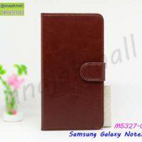 M5327-03 เคสฝาพับ Samsung Note10 สีน้ำตาล