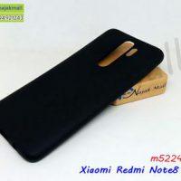 M5224-05 เคสยางนิ่ม Xiaomi Redmi Note8 Pro สีดำ