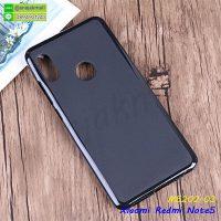 M5202-03 เคส Xiaomi Redmi Note5 ยางนิ่ม สีดำ