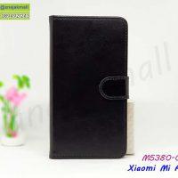 M5380-02 เคสฝาพับ Xiaomi Mi A3 สีดำ