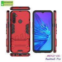 M5421-05 เคส Realme5 Pro กันกระแทก สีแดง