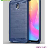 M5549-03 เคส Xiaomi Redmi8a กันกระแทก สีน้ำเงิน