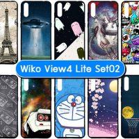M5537-S02 เคส Wiko View 4 Lite พิมพ์ลายการ์ตูน Set02 (เลือกลาย)
