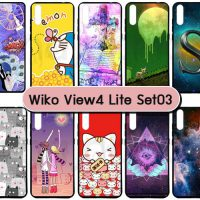 M5537-S03 เคส Wiko View 4 Lite พิมพ์ลายการ์ตูน Set03 (เลือกลาย)