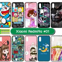 M5689-S01 เคส Xiaomi Redmi9a พิมพ์ลายการตูน Set01 (เลือกลาย)