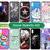 M5689-S02 เคส Xiaomi Redmi9a พิมพ์ลายการตูน Set02 (เลือกลาย)