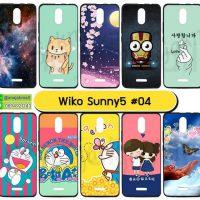 M5690-S04 เคส Wiko Sunny5 พิมพ์ลายการ์ตูน Set04 (เลือกลาย)