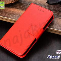 M5641-01 เคสฝาพับ Xiaomi Redmi9 สีแดง