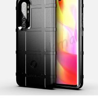 M5584-01 เคส Rugged กันกระแทก Xiaomi Mi Note10 Lite สีดำ