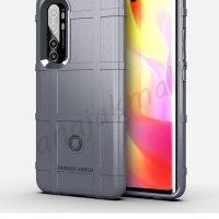 M5584-02 เคส Rugged กันกระแทก Xiaomi Mi Note10 Lite สีเทา