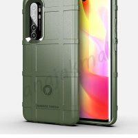 M5584-04 เคส Rugged กันกระแทก Xiaomi Mi Note10 Lite สีเขียวทหาร