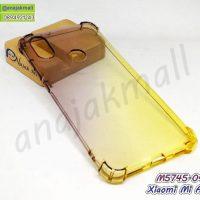 M5745-04 เคสยางกันกระแทก Xiaomi Mi A2 สีดำ-เหลือง