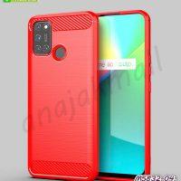 M5832-04 เคสยางกันกระแทก Realme7i / Realme C17 สีแดง