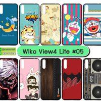 M5537-S05 เคสยาง wiko view4 lite พิมพ์ลายการ์ตูน Set05 (เลือกลาย)