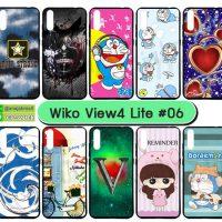 M5537-S06 เคสยาง wiko view4 lite พิมพ์ลายการ์ตูน Set06 (เลือกลาย)