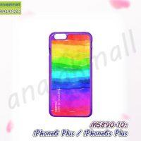 M5890-10 เคสแข็ง iphone6plus / iphone6splus พิมพ์ลาย 10