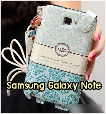 M1038-06 ซองหนัง Samsung Galaxy Note ลาย Graphic I