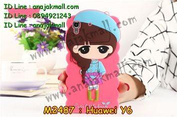 M2487-02 เคสตัวการ์ตูน Huawei Y6 ลาย F
