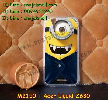 M2150-19 เคสยาง Acer Liquid Z630 ลาย Min Vampire