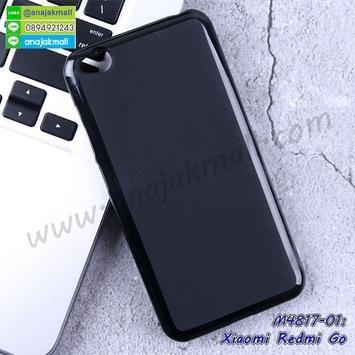 M4817 เคสยางนิ่ม Xiaomi Redmi Go สีดำ