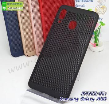 M4922-05 เคสระบายความร้อน Samsung A30 สีดำ